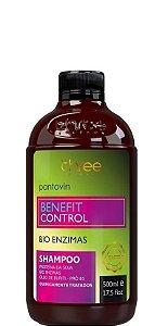 Three Therapy Pantovin Benefit Control Shampoo Bio Enzimas 500ml