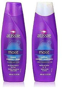 Aussie Shampoo e Condicionador Moist 2x400ml