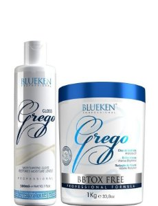 Blueken Progressiva Grego 300ml + Bbtox Free Grego 1kg