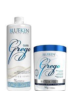 Blueken Progressiva Grego 1 Litro + Bbtox Free Grego 1kg
