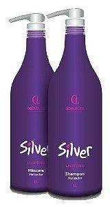 Kit Silver Matizador Adele Liss Shampoo+Máscara (2x1L)