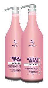 Absolut Repair Adele Liss Shampoo+Condicionador (2x1 litro)