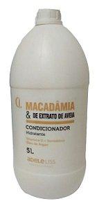 Adele Liss Condicionador Hidratante Macadâmia E Extrato De Aveia 5 Litros