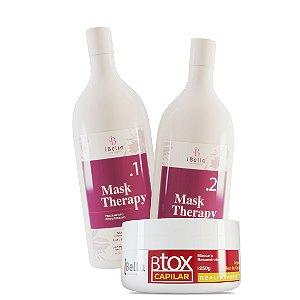 Progressiva Mask Therapy 2x1L+Btox Capilar iBella 250g