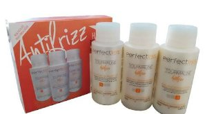 Escova Progressiva Perfect Lis Tourmaline AntFrizz 3x100ml + Brinde