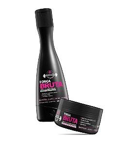 Madame Lis Força Bruta Ultra Concentrado Kit Shampoo e Máscara 300ml