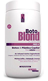 Botox Capilar Ony Liss Boto Blond Platinum Matizador 1kg
