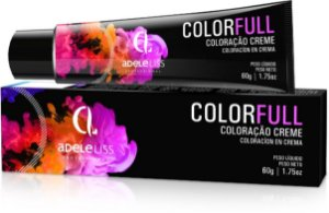 Adele Liss Color Full  7.1 Castanho claro 60g