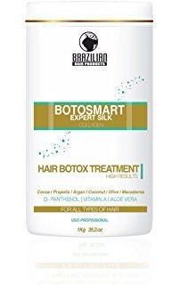 Inoar Botox Brazilian BotoSmart Expert Silk Collagen Hair 1kg(Brinde)