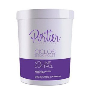 Portier Ciclos Btx Capilar B-tox Violeta Matizador Volume Control 1kg