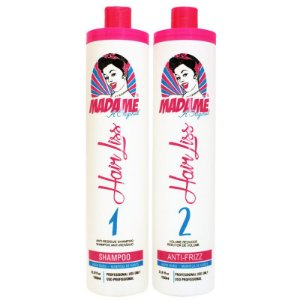 Escova Progressiva Madame Hair Liss 2x1 Litro