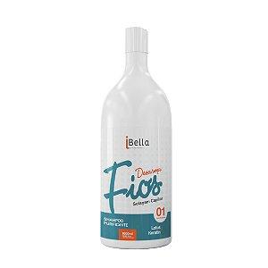 Shampoo Anti Residuos Purificante Desarma Fios iBella 1000ml