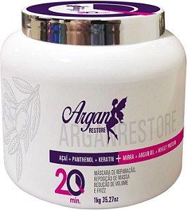 Botox Sem Formol Agle Argan Restore Redução de Volume 1kg
