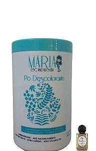 Pó Descolorante Maria Escandalosa 9 Tons Dust Free 500g + Óleo