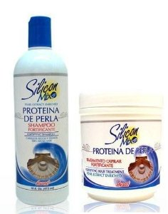 Silicon Mix Proteina de Perla Shampoo 473ml + Mascara 450g