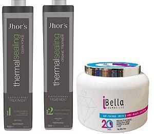 Progressiva Thermal Sealing Organica Jhors e Botox iBella Sem Formol