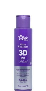 Magic Color Gloss Matizador 3D Ice Blond Efeito Cinza 500ml