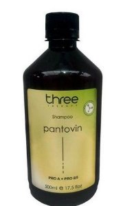 Three Therapy Shampoo Pantovin 500ml OUTLET
