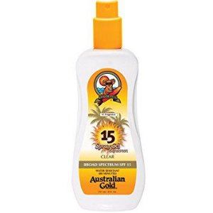 Protetor Solar Australian Gold Spray Gel Sunscreen SPF 15 - 237ml