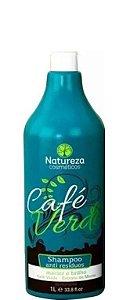 Natureza Cosméticos Shampoo Anti-Residuos Café Verde 1Litro OUTLET