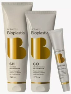 Lowell BioPlastia Capilar Kit Home Care (3 Produtos)