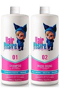 Progressiva Hair Sem Formol Desire Professional 2x1litro