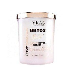 BBTox Ykas Gold Pro Repair Máscara de Alinhamento Capilar 1kg OUTLET