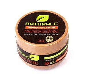 Naturale Máscara Manteiga de Bambu 300g + Brinde