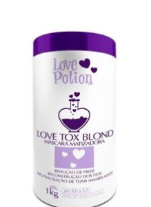 Love Potion Love Tox Blond B-tox Matizador 1kg + Brinde