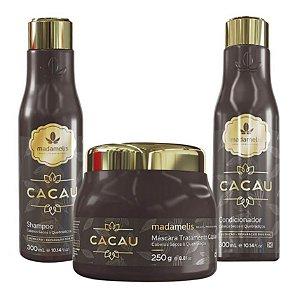 Madame Lis Cacau Kit Shampoo - Condicionador - Mascara