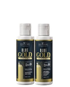 Salvatore Blue Gold Escova Progressiva 2x100ml + Saches Oka Salvatore