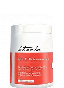 Let Me Be Gelatina Capilar Hidratante Colágeno 1kg + Brinde