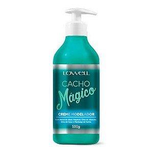 Lowell Cacho Magico Creme Modelador 500ml + Brinde