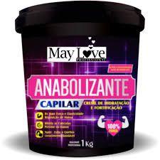 May Love Anabolizante Capilar Hidratação e Fortalecimento 1kg
