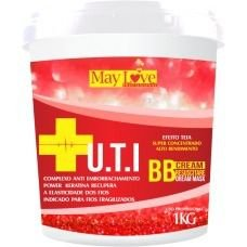 May Love UTI BBcream Máscara Anti Emborrachamento Efeito Teia 1kg