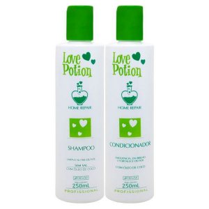 Love Potion Shampoo e Condicionador de Coco Home Repair 2x300ml