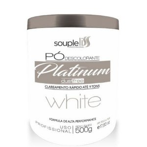 Po Descolorante White Souple Liss Branco 9 Tons 500g