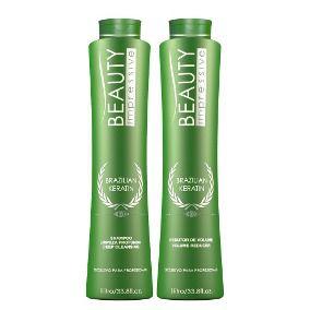 Escova Progressiva Beauty Impressive Brazilian Keratin 2x1 litro