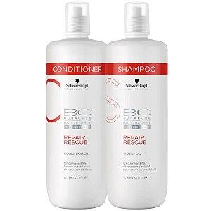Schwarzkopf Bonacure Repair Rescue Shampoo e Condicionador 2x1litro