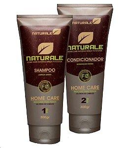 Naturale Shampoo e Condicionador uso Diário 2x300ml + Brinde