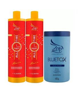 Progressiva Zap All Time 2x1litro + Botox Zap BlueTox 950g