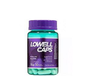 Lowell Caps Capsulas de Crescimento Capilar 15g - 30 Capsulas