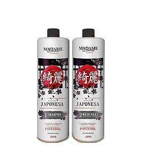 Escova Progressiva Japonesa Madame Louca 2x1 litro