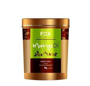 Fox Professional Máscara Moringa Oil Reposição Hídrica 1kg