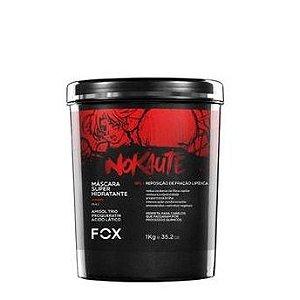 Fox Professional Máscara Hidratante Nokaute Vermelho 1kg