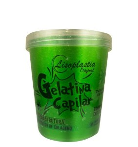 Gelatina Capilar Reconstrutora LisoPlastia Bambu + Chá Verde 1kg