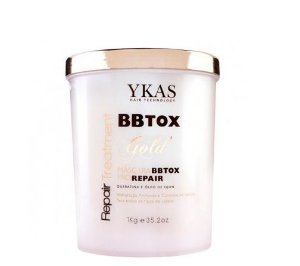 Ykas BBTox Gold Repair Treatment Pro Repair 1kg + Brinde