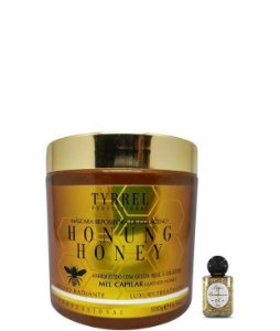 Tyrrel Mascara de Mel Capilar Honung Honey Reposição de Colageno 500ml + Óleo