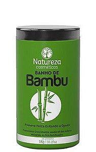 Natureza Cosméticos Máscara Banho de Bambu Crescimento 1kg