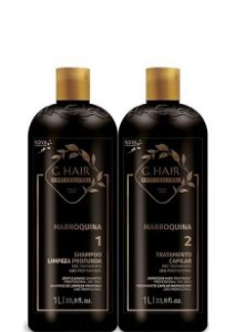GHair Escova Progressiva Marroquina 2x1litro